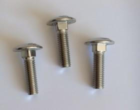 Bulong đầu dù cổ vuông M8*30 (DIN603)
