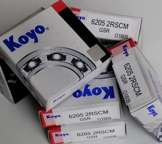 BẠC ĐAN KOYO 6205 - 2RSCM